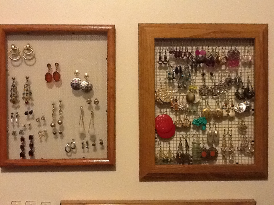 Two Earring Holders