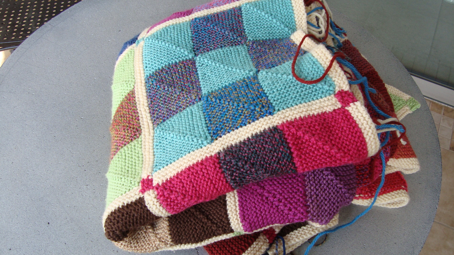 nine patch | Nancyknit\'s Blog
