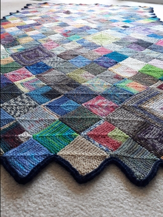 Blanket longways